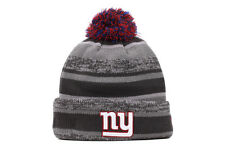 New Era Sport Knit NFL New York Giants Men Women Kids Gray Blue Red Beanie