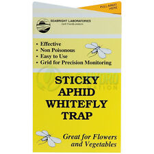 Seabright Laboratories Sticky Aphid Whitefly Trap Sticky Insect Pest Control