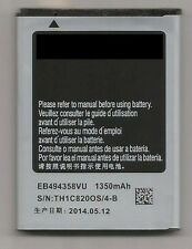 Free Shipping! 1350mAh Battery for Samsung Galaxy Gio/ Fit S5660 EB494358VU
