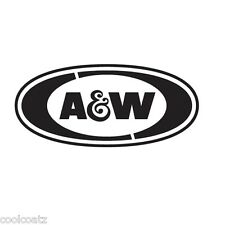 A&W Root Beer Company Brand Logo Vinyl Decal Window Sticker Car Wall Laptop