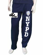 OFFICIALLY LICENSED NYPD SWEATPANTS PANTS TRACKSUIT NEW YORK POLICE DEPARTMENT