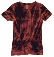 Tye Dye Shirt -- Fire Design --Dyed in the USA