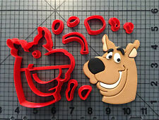 Scooby Doo Face Cookie Cutter Set