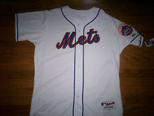 NEW YORK METS NEW MLB MAJESTIC AUTHENTIC GAME JERSEY