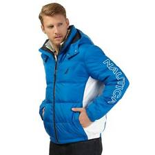 Nautica Mens Quilted Down-Blend Puffer Jacket