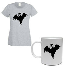 SCARY GHOST - Halloween / Gift Idea / Funny Themed Women's T-Shirt and Mug Set