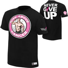 WWE JOHN CENA RISE ABOVE CANCER T-SHIRT YOUTH OFFICIAL AUTHENTIC NEW