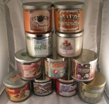 Bath And Body Works 3 Wick Candles 14.5 Oz. - CHOOSE YOUR SCENT [Fast Shipping]
