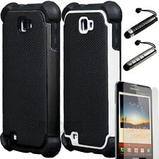 Heavy Duty Rugged Hard Case Cover For Samsung Galaxy Note i717 T879 AT&T TMobile