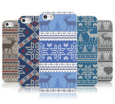 DYEFOR CHRISTMAS KNITTED JUMPER PATTERN HARD CASE COVER FOR APPLE iPHONE 5 5S