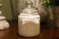 Scented Natural Soy Wax Candle Large Glass Jar - Pick Your Own Scent (New)