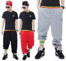 Hiphop Mens Women Boys Casual Sports Dance Weed Harem Sweat Pants Baggy Trousers