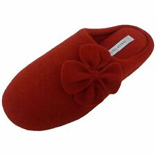 Tender Tootsies SCUFF L10006 Womens Red Clogs Comfort Warm House Slippers