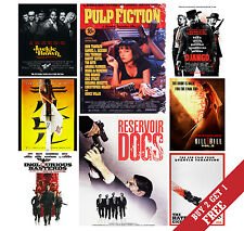 A3 QUENTIN TARANTINO ALL MOVIES Poster Options Photo Print Film Home Decor Art