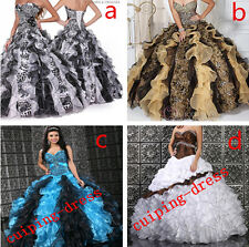 2014 Sexy Prom Quinceanera Dress Wedding Dresses Bridal Gowns Ball Gown A Line