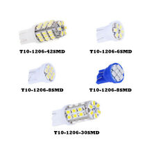 High Power LED Bulbs T10-1206 License Plate Reading Lights Universal For Vehicle
