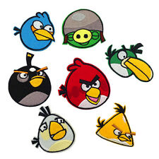 Angry Birds Character Novelty Applique Patches (Iron or Sewing On)