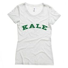 Kale Womens T-Shirt Vegan Vegetarian Health Food Soft Vintage Feel Comfy Tee