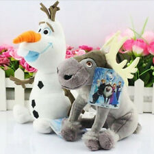 Cute Frozen Movie Figure Olaf Snowman Sven Soft Plush Doll Kids Xmas Toy Gifts