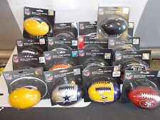 """Mini Quick Toss Softee Football. 5"""". You choose the team. Safe for all ages"""