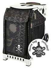 ZUCA Sports Frame & Insert Bag - SKULLS - NEW - FREE SEAT CUSHION!!!