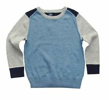 Baby Gap toddler boy's color block pullover sweater 12-18, 18-24, & 3 years NWT