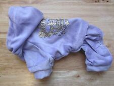 Cute~ Purple ~Pajamas dog jumpsuit pet clothes Size S M L Xl for Small dog Only