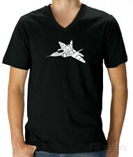 V-Neck - Need for Speed - Fighter Jet T-Shirt