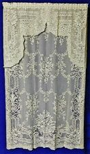 Elegant Fontaine Lace Festoon Valances, Swag Pairs and Panels