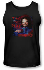 Tank Top: Childs Play 3 - Time To Play T-Shirt Black