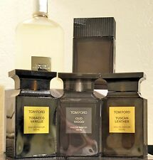 Tom Ford Tobacco Vanille Tuscan Leather Oud Wood Grey Vetiver Noir EDP 5/10ml