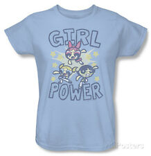Womens: Powerpuff Girls - Girl Power T-Shirt