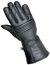 New winter leather motorbike motorcycle water resistant glove thermal thinsulate