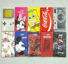 Various Designs TPU Gel Back Cover Case Skin For Sony Xperia M2