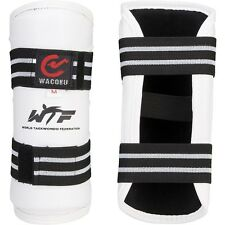 Wacoku WTF Approved Taekwondo Forearm Guards Protectors Arm Pads Kickboxing TKD