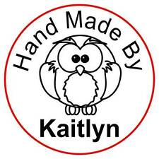 Personalised Clear Acrylic Craft Stamp (Rubber Stamp) - Owl
