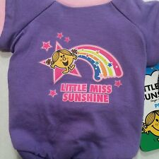 Dog Tee Shirt, Little Miss Sunshine, Purple Pink SIZES, XS, S, M  New With Tags