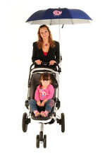 Buggy Brolly Hands Free Pushchair Pram Buggy Rain Umbrella Various Colours NEW