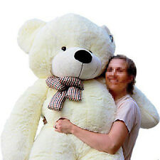 Hot!! Fashion 80-120CM Giant Big Cute Plush Stuffed Teddy Bears Soft Cotton Toys