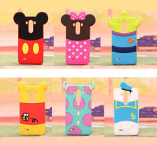 Cute Cartoon Character Back Design Rubber Case Cover For LG G3 VIGOR MINI BEAT