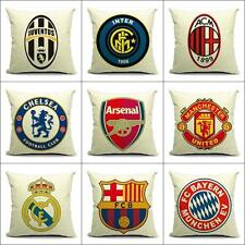 FC Bayern München Manchester United Chelsea Football Club Team Throw Pillow Case