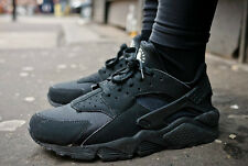 "Nike Air Huarache LE ""Triple Black"" 6,7,8,9,10,11,12 UK LIMITED EDITION 2K15"