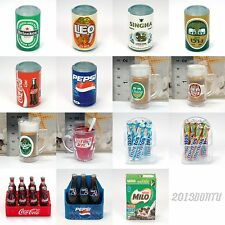 Fridge Magnet Miniature Heineken Beer Pepsi Cola Can Cans KFC Glass Mentos Milo