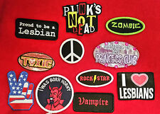 Patches - Iron On (mostly) - Customise Your Clobber - Part 6 - Novelty