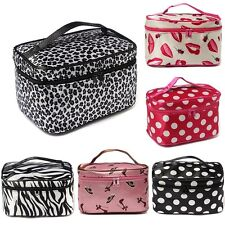 Makeup Bag Cosmetic Container Case Pouch Portable Toiletry Wash Organizer Holder