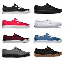 VANS Authentic Classic Shoes Canvas Unisex Men Women Sneakers Brand New All Size