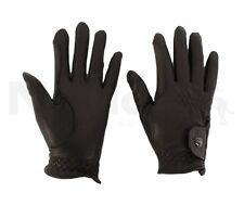 Brand New Dublin Leather Show Gloves Dressage Jumping Show Gloves