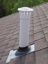 2015: Brand New Preventative Maintenance PVC Roof Pipe Screen Vent Cap.