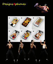 NEW BRUCE LEE KUNG FU PHONE CASES FOR iPHONE 4 4s 5 5s 5c & 6  SAMSUNG  S3 S4 S5