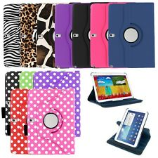 360 Rotating PU Leather Case Skin Cover Stand for Samsung Galaxy Note 10.1 2014